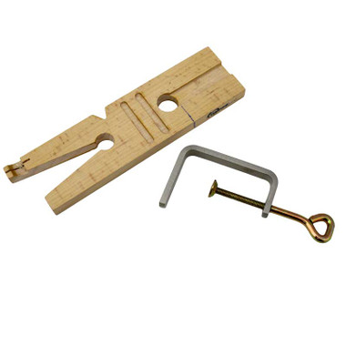 Wooden Bench Pin for Rings Sawing Sizing Slot Cutting Jewellery Craft Jewellers