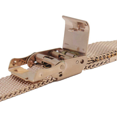 2d80a97a7bdb8a Rose Gold Color Metal Watch Band 14mm 6 3/4 Inch Length