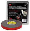 """3M 6383 7/8"""" x 20 yard roll Double Sided Tape Black"""