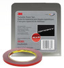 "3M 6385 Double Sided Tape 1/4"" x 5 yard Roll Grey"