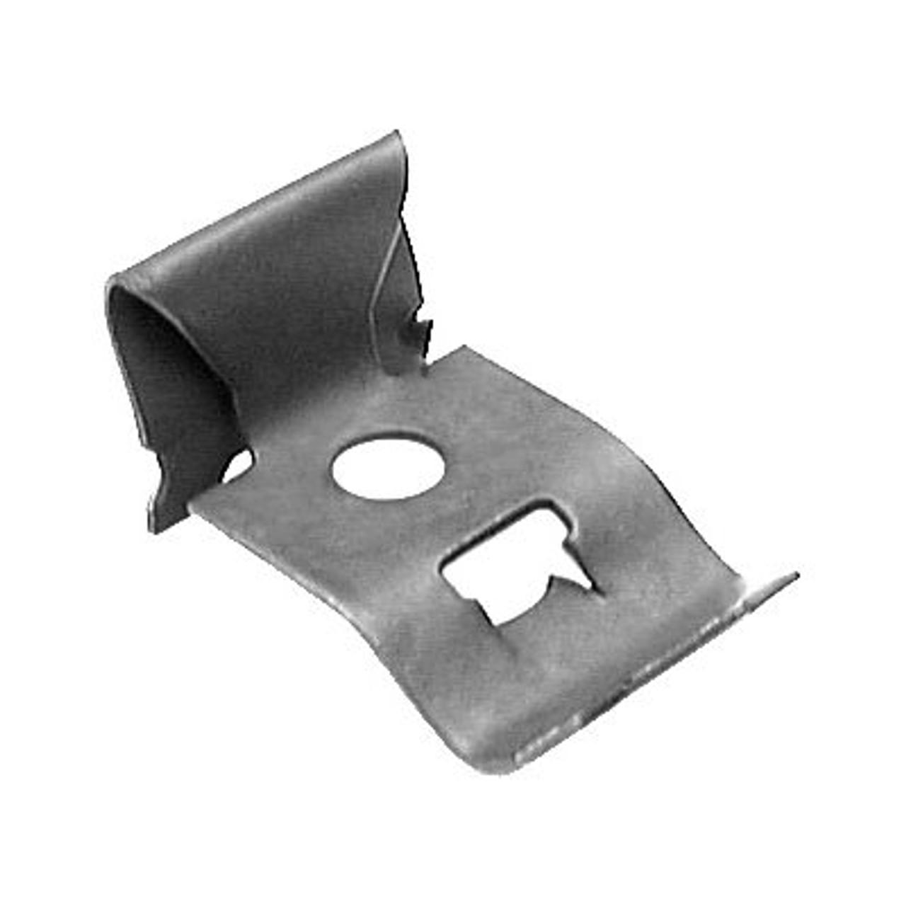 Description : Window Reveal Moulding Clip Front Windshield & Rear WIndow Material : Metal GM OEM:4657731 100 Per Box