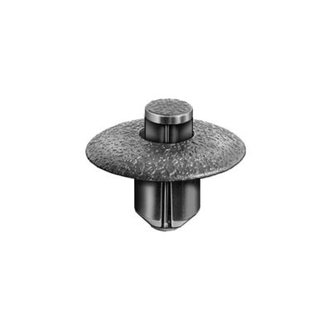 Description : Push-Type Retainer Type : Push-Type with Drive Pin Head Diameter : 17MM Stem Length : 9MM Hole Size : 7MM Color : Black Lexus OEM: 90467-07117 Pcs/Unit: 10 Per Box Country: CN Catalog Page #: 504