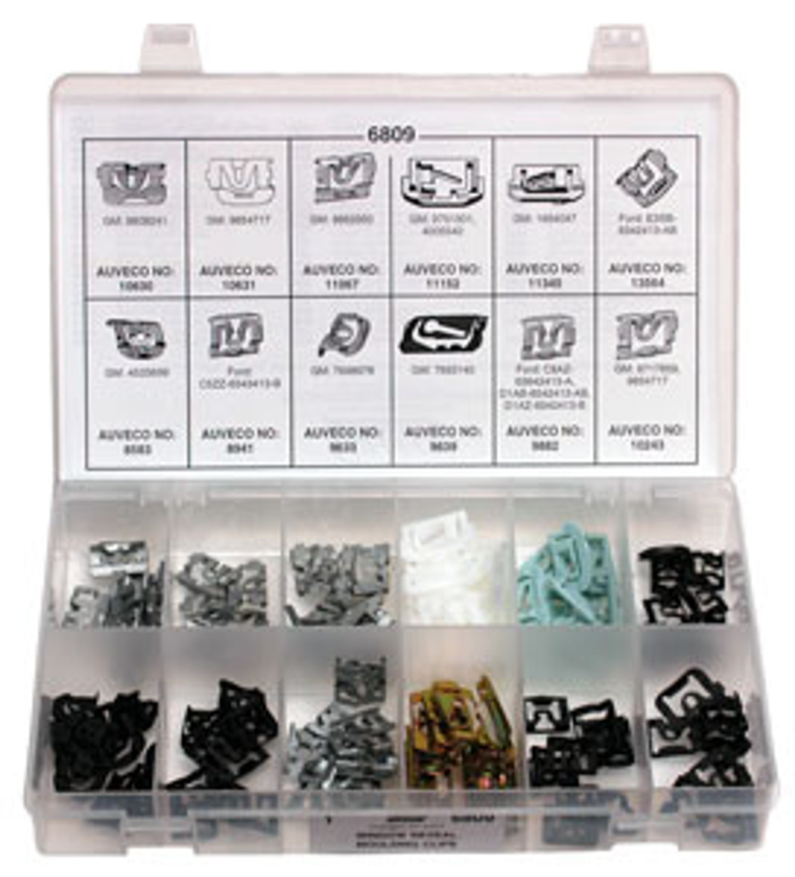 Window Reveal Moulding Clips GM & Ford 132 Pieces