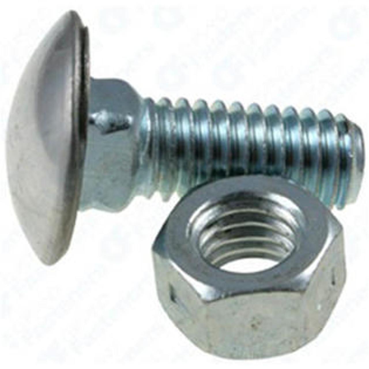 """Mopar GM Ford 7//16 x 1-1//2/"""" round head bumper bolts"""
