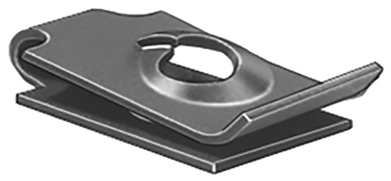 "U Nuts Screw Size: #8 Panel Range: .025"" - .035"" Center Of Hole To Edge: 11/32"" 100 Per Box"