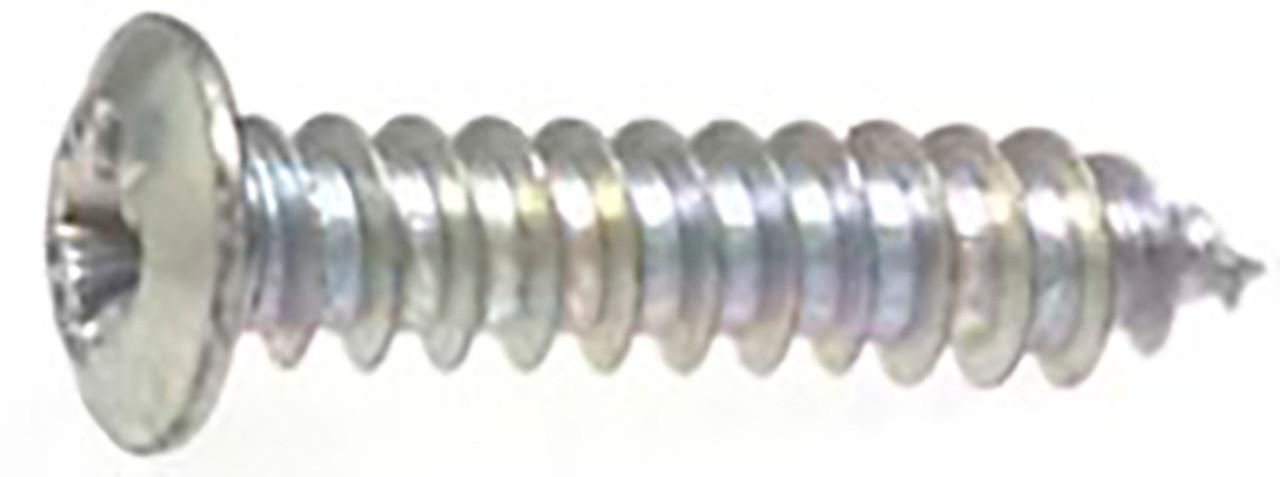 "#8 x 3/4"" Pozi-Drive Phillips Washer Hd Zinc 100 Per Box Click Next Image For Screw Detail"
