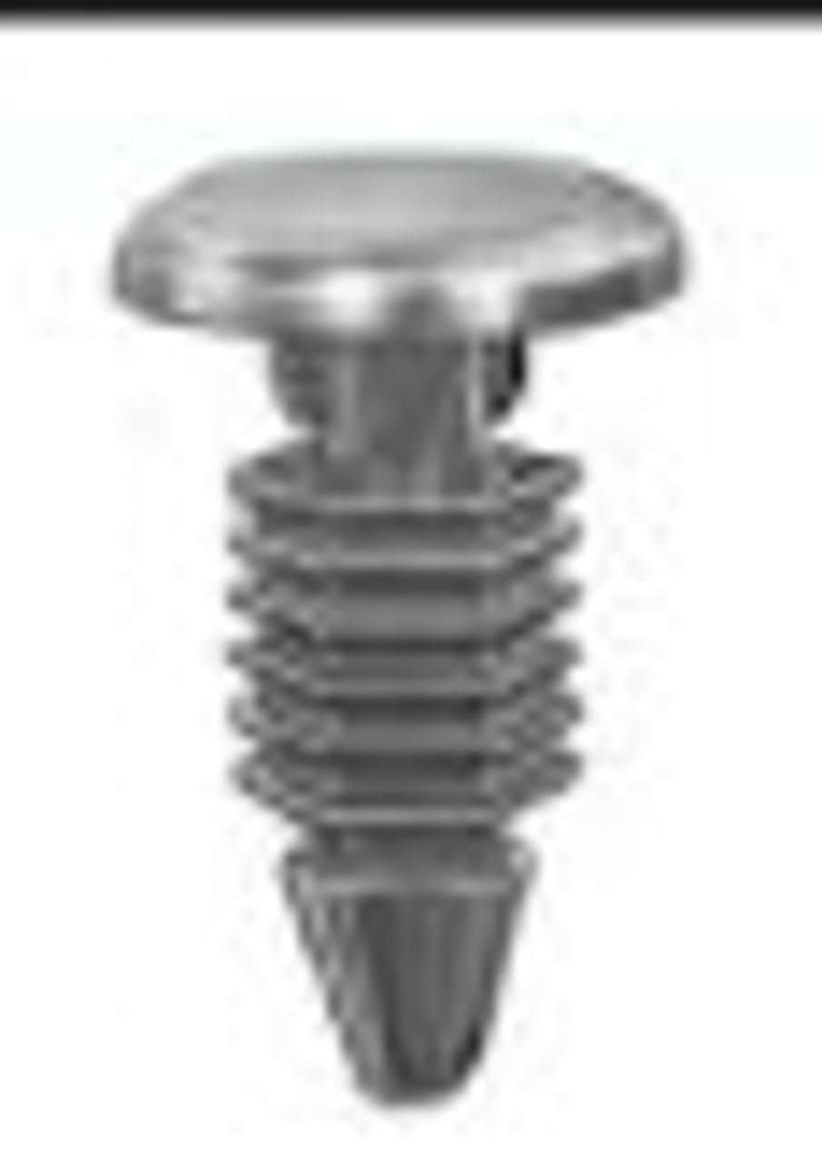 """Chrysler 1977-0n Head Diameter: 3/8"""" Stem Length: 3/8"""" OEM#2964547 Nylon 25 Per Box Click Next Image For Clip Detail"""