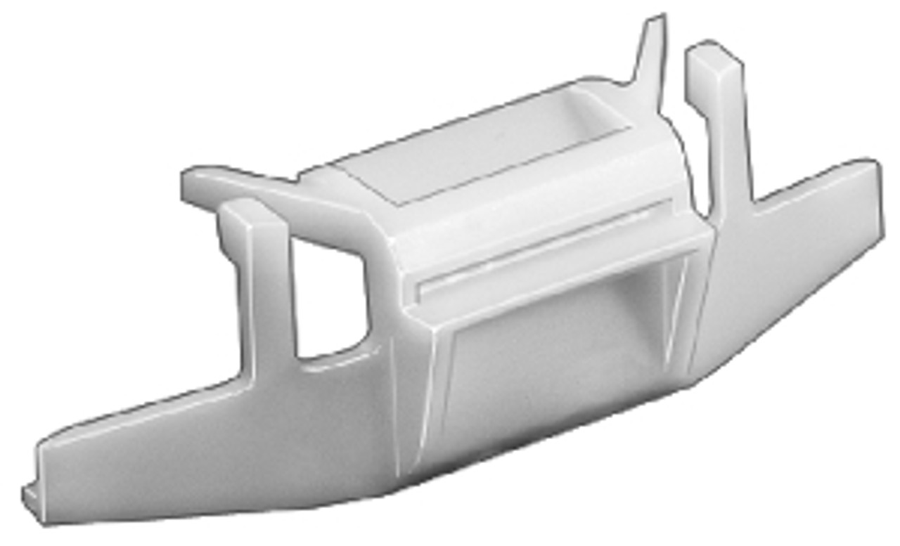 Windshield Side Moulding Clip Acura Legend - 4 Door 1991-On OEM# 91514-SP0-003 Yellow Nylon 5 Per Box Click Next Image For Clip Detail