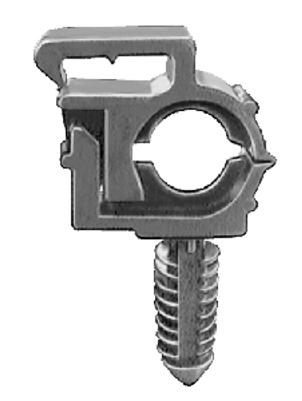 """Wire Loom Routing Clips Inner Diameter: 1/4"""" Outer Diameter: 3/8"""" OEM# 12040984 Nylon Type 3 15 Per Box Click Next Image For Wire Loom Clip Size Chart"""