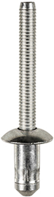 "Fender, Sill & Radiator Support Specialty Rivet  1/4"" (6.3mm) Diameter Grip: .110"" - .189"" (2.79mm - 4.8mm) Flange Diameter :1/2"" (13mm) Steel Rivet ( Zinc) & Steel Mandrel (Zinc) Ford F-150 Trucks With Aluminum Body 2015 OEM# W702512-S900C 10 Per Box"