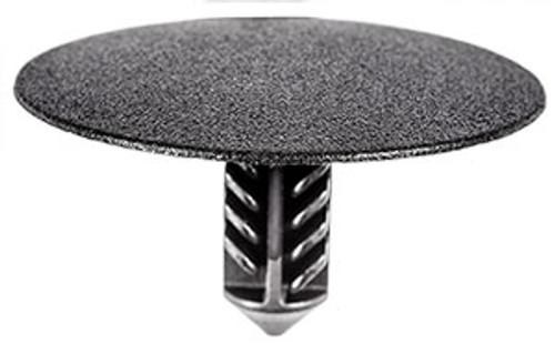 Hood Insulation Retainer Head Diameter: 32mm Stem Diameter: 8.5mm Black Nylon Stem Length: 16mm Cadillac ELR, Chevrolet Colorado & Volt and GMC Canyon 2011 - On GM OEM# 11611677 10 Per Box