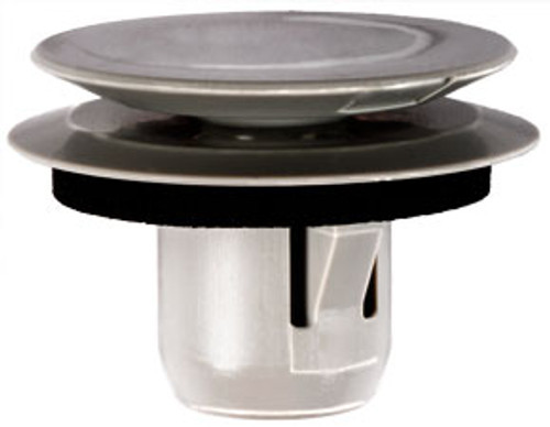Front Fender Retainer With Sealer Top Head Diameter: 20mm Bottom Head Diameter: 22mm Gray Nylon Stem Length: 11mm Fits Into 10mm Hole Lexus HS 250h, RX 350 & RX 450h Toyota Prius & Sienna 2010 - On Toyota OEM# 53813-48011 10 Per Box