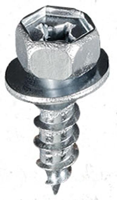 M6.3-2.5 x 18mm 14mm Washer O.D. 10mm Hex Zinc Toyota & Scion 1993 - On Toyota OEM# 90159-60303 25 Per Box