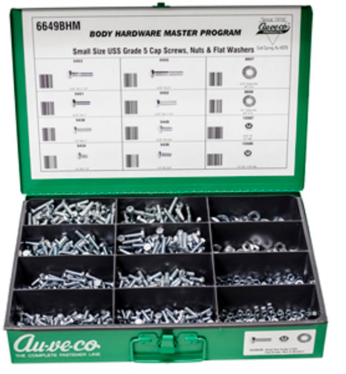 Small Size Grade 5 USS Cap Screws, Nuts & Washers