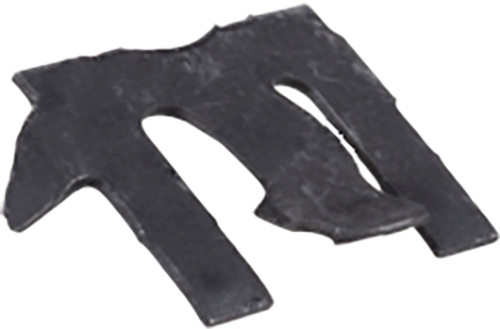 GM Weatherstrip Clips Black Phosphate Attaches to Felt Strip Between Door And Glass 50 Per Box