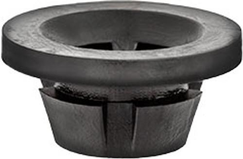 Engine Under Cover & Rear Bumper Molding Grommet Screw Size: M6-1.0 Head Diameter: 20mm Black Nylon Stem Diameter: 14mm Stem Length: 7mm Overall Length: 9.5mm Hyundai Azera, Equus, Genesis, Santa Fe, Sonata and Kia Forte, Optima & Rio 2010 - On Hyundai OEM# 84219-3L000 25 Per Box