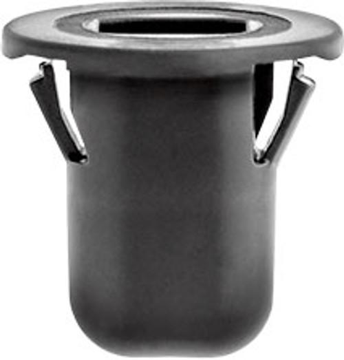 Rear Lamp Grommet Head Diameter: 18mm Stem Length: 16mm Black Nylon Overall Length: 18mm Ford F-150 2015-On Ford OEM# W717970-S300 10 Per Box