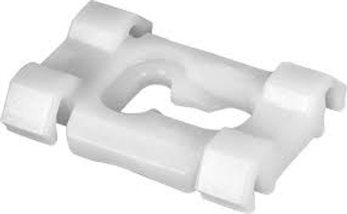 "Side Molding Clip - 3/4"" Moldings Buick Roadmaster 1991-On White Nylon GM OEM# 10135796 15 Per Box"
