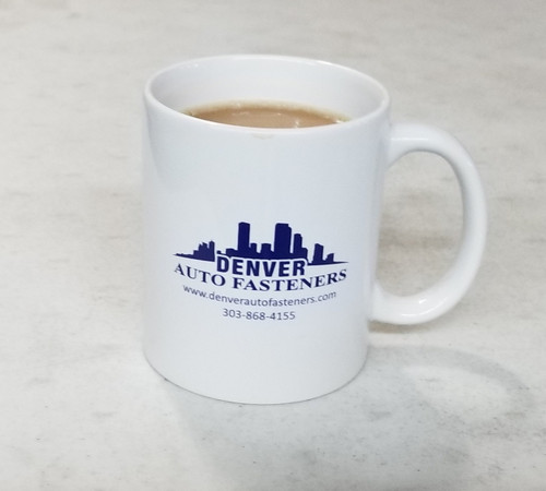 Ceramic Coffee Mug With Logo