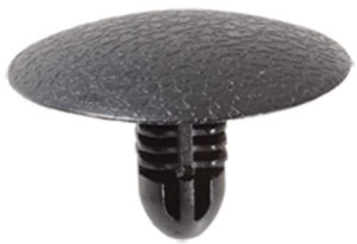 Hood Insulation Retainer Head Diameter: 24mm Stem Diameter: 6mm x 6mm Stem Length: 13mm Suzuki Grand Vitara, Swift & XL7 1990 - On Suzuki OEM# 09409-06309-5ES Black Nylon 25 Per Box