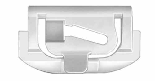 GM 1975 - On AMC 1975 - On Windshield to Panel (Lower) Side Molding Clips GM OEM# 9731301 AMC OEM# 4005540 White Nylon 100 Per Box