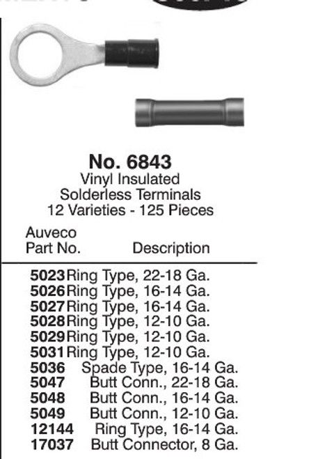 Vinyl Insulated Electrical Terminals