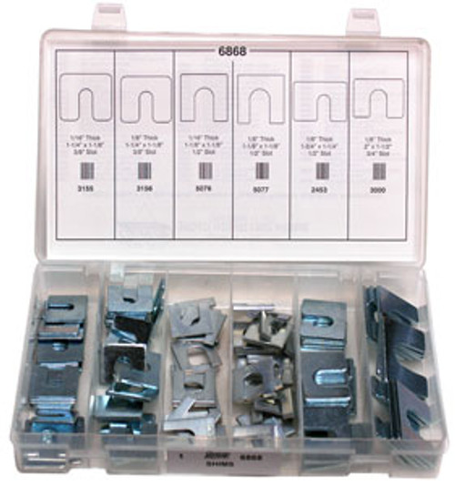Body Shims Quick-Select Assortment Kit Zinc Plated 100 Pieces Click Next Image For Size Chart