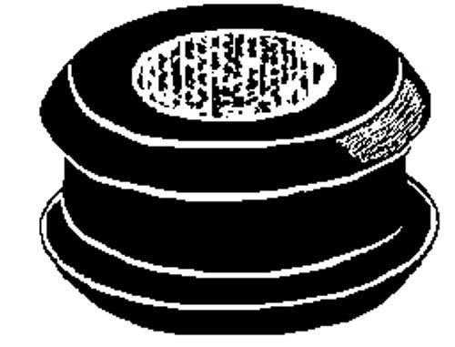 "Bore Diameter: 1/2"" Groove Width: 1/4"" Groove Diameter: 13/16"" 25 Per Box Click Next Image For Grommet Size Chart"