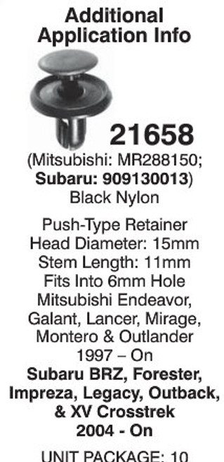 Auveco 21658 Detail