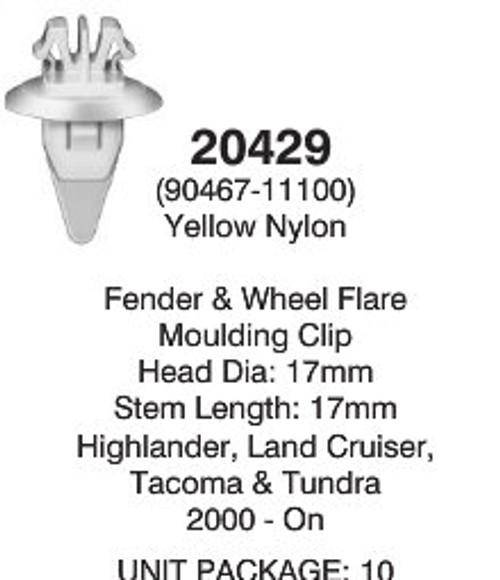 Auveco 20429 Detail