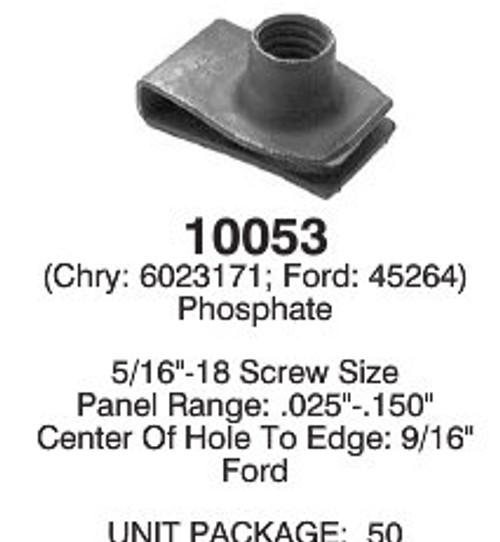 """*Set of 50* Peel Rivets 1//4/"""" GM 9437938 Chrysler 6031091 Ford 385323-S100"""