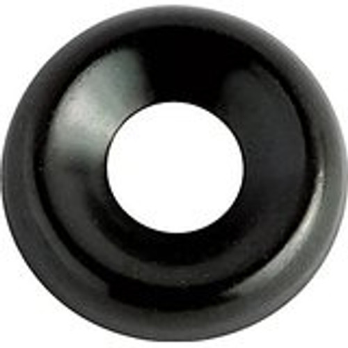 """Countersunk Type Washer Screw Size: #8 I.D. 13/64"""" O.D. 1/2"""" Black Zinc Plated Brass 100 Per Box Click Next Image For Washer Size Chart"""