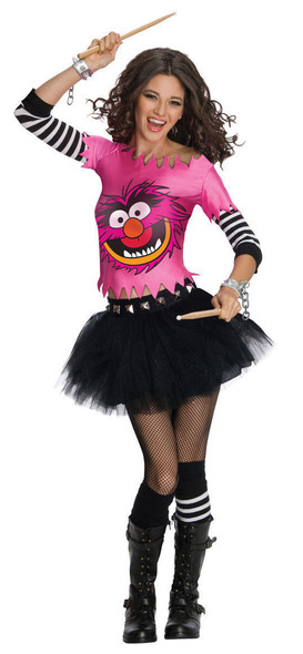 The Muppets Sexy Animal Adult Costume Dress Womens Size Small 2-6 Crazy Wild New