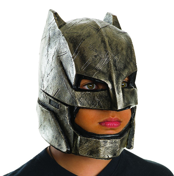 Batman vs Superman Armored Batman Child Mask DC Comics Vinyl Costume Accessory