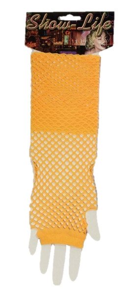 Fishnet Fingerless Gloves Lolita Retro Costume Accessory 80's Women's Glovelet
