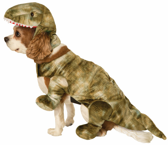 Cute Return of The Dinosaurs Pet Costume Dog Cat Halloween Dino  Small Medium