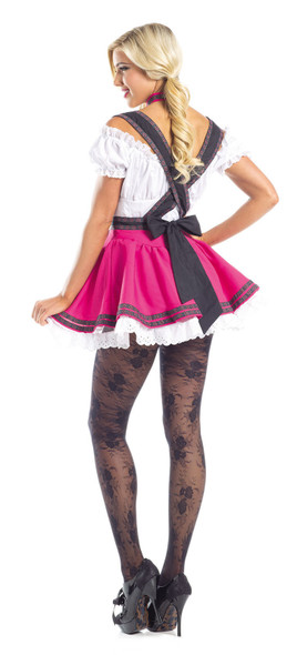 Be Wicked Swiss Beauty Costume Womens Beer Maiden Oktoberfest Fancy Dress