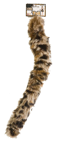 "18"" Leopard Feline Fantasy Tail Animal Faux Fur Halloween Costume Accessory"