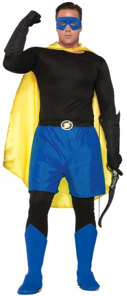 "Create Your Own Super Hero Adult Costume Accessory Boxer Shorts Up To 34"" Waist"