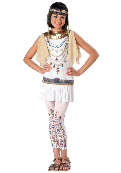 Cleo Cutie Queen of The Nile Cleopatra Egyptian Girls Halloween Costume MD 10-12
