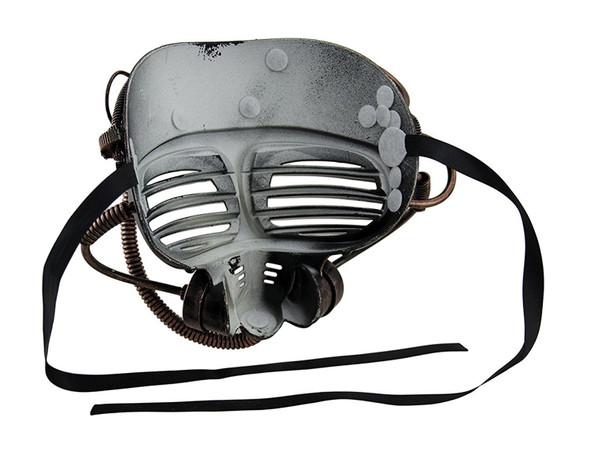 Steampunk Gold Submarine Fancy Mask Adult Mens Womens Masquerade Scuba Diver
