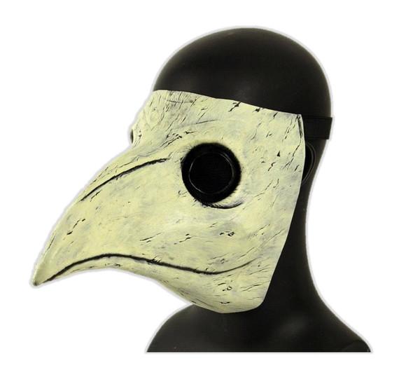 Peste di Venezia Death Doctor Latex Mask Black Plague Costume Accessory
