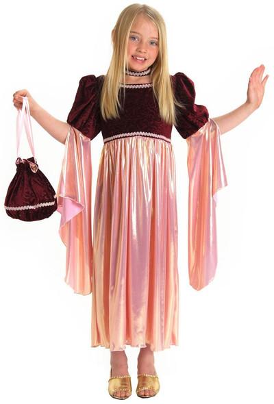 Princess Paradise Renaissance Josephine Dress Girls Kids Child Costume Small 6