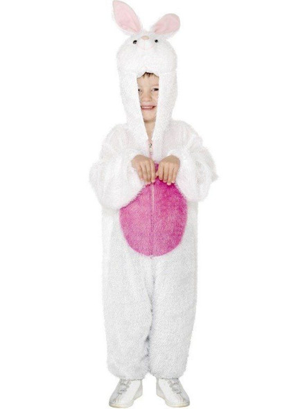 Party Animals White Easter Bunny Rabbit Halloween Costume Child Boys Girls Med