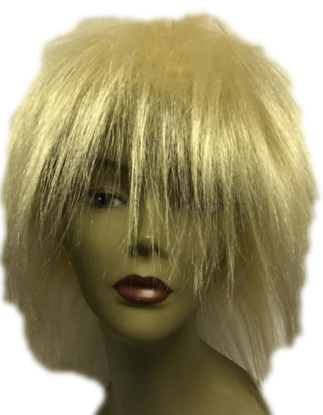 High Quality Blush Punk Cali Blonde Anime Wig Cosplay Adult Costume Accessory