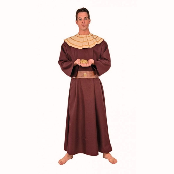 Wiseman III Costume Adult Mens Tunic Biblical Times Christmas Red One Size