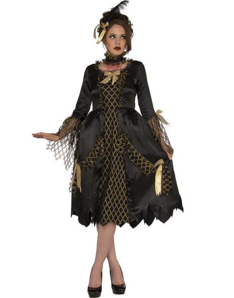 Decapitated Damsel Victorian Beheaded Woman Halloween Costume Women's Standard