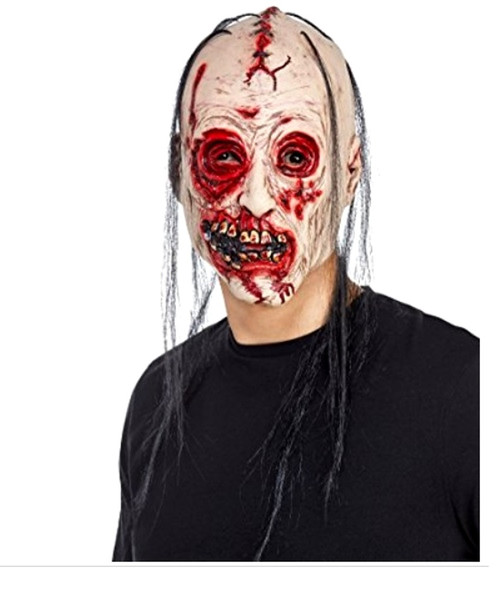 American Horror Story Bloody Face 3/4 Vinyl Mask  Seasons 2 Asylum  Zombie Adult