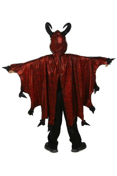 Princess Paradise Devil Costume Cape Horns Red Black Diablo Medium Child 4-8 New