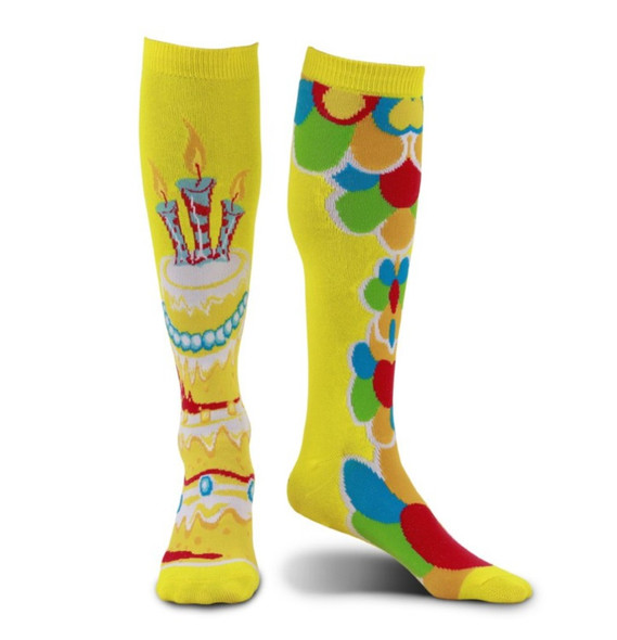 Mismatched Celebration Knee-High Socks